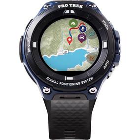 Smartwatch Casio Pro Trek 62mm Acero Inoxidable Sellado