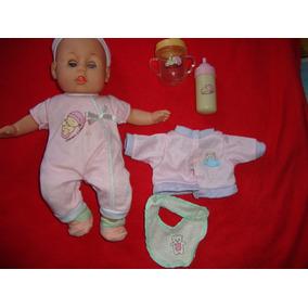 Muñeca Llora Y Rie Bebe Niña