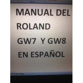 Manual Roland Gw7 Y Gw8 En Español