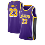 Camisa Los Angeles Lakers Lançamento Nba 2019 James #23