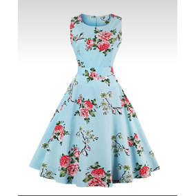 Vestido corte a floreado