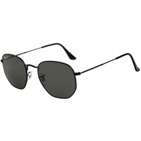 Óculos Ray-ban Rb3548 Hexagonal Original Preto Lentes Pretas. R  309 5609e1e24b