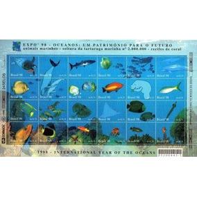 Folha De Selos Oceanos 1998 Preço Imbatível
