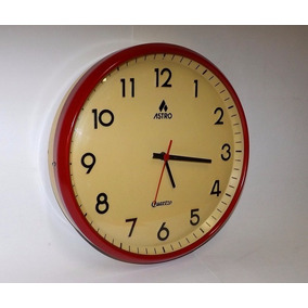 72986e99964 Relógio De Parede Astro - Grande - Vidro Convexo