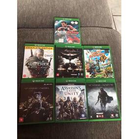 7 Jogos De Xbox One S. Quase Nenhum Uso. Sem Nenhum Risco