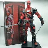 Figura Muneco De Coleccion Deadpool 100% Original En Caja