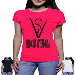 Camiseta Medicina Veterinaria Camisa Veterinario Blusa Roupa