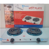 Cocina Eléctrica 2 Hornillas Hot Plate 2000w Espiral Oferta