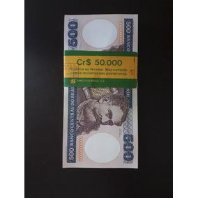 Lote Cem Notas Sequenciais De Quinhentos Cruzeiros (cr$ 500)