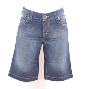 Sexy Jeans Azul Bermuda Mezclilla Mrsp $700