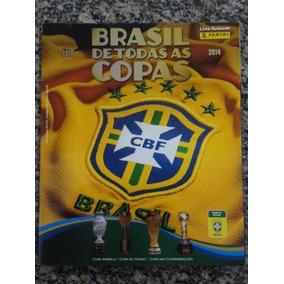 Álbum Brasil De Todas As Copas Panini 2013
