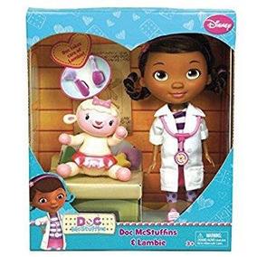 Muneca 9 Pg Doc Especialista Nina Disney Doc Mcstuffins