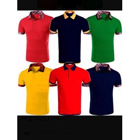 Camisa Polo Diversa Marca Famosa - Pólos Manga Curta Masculinas no ... a0dd8c5967143