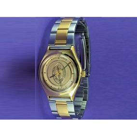 9026b66c749 Relógio Bulova Accutron (tulane University) Banhado Ouro.