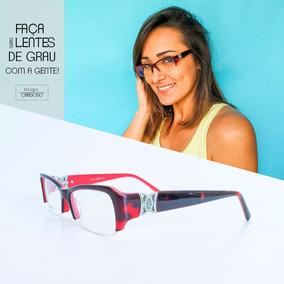 Armacao Oculos Feminino Retro Moderno - Óculos no Mercado Livre Brasil 438c6bbb35