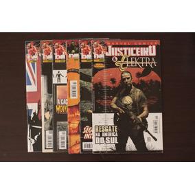 Gibis Justiceiro E Elektra Do 1 Ao 6 Editora Panini Marvel