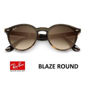 af37052bf1 Ray Ban Blaze Round Marrom - Óculos De Sol Outros Óculos Ray-Ban no ...