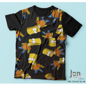 Simpsons Playmates - Lisa Simpson - Camisetas Manga Curta no Mercado ... 4ffa1a7118a