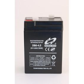 Bateria 6v 4.5ah Para Lamparas De Emergencias