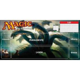 Playmat Magic The Gathering Card Rpg Lona Mtg Dragão Tiamat