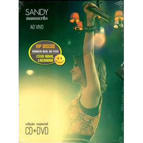 cd sandy manuscrito ao vivo gratis