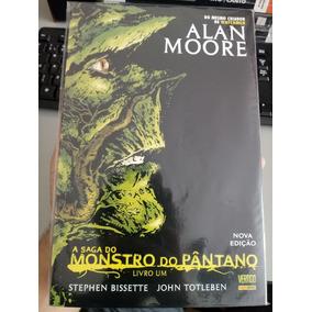 A Saga Do Monstro Do Pântano Livro Um Alan Moore Nova Edição