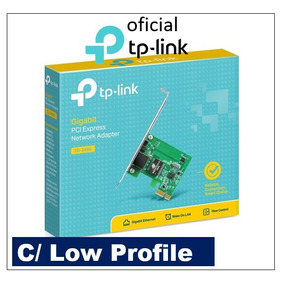 Placa Rede Pci Express Tp-link Tg-3468 Gigabit Low Profile