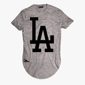 Camisas Alongadas Longline Oversized La Los Angeles Swag