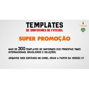 Super Pacote De Template De Uniformes De Times