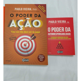 2 Livros Paulo Vieira: O Poder Da Ação, O Poder Da Autorres