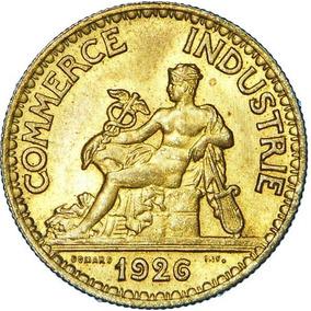 Moeda 50 Centimes 1926 - Commerce Industrie - França