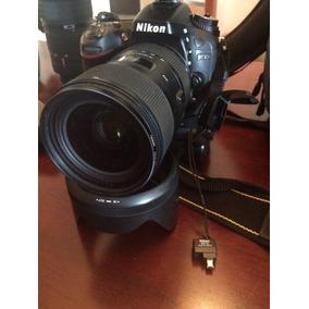 Camara Digital Nikon D7100 Profesional Excelente Estado