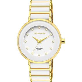097173d4e3f Relogio Feminino Branco Ceramica - Relógio Feminino no Mercado Livre ...