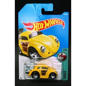 Hot Wheels 2017 Volkswagen Beetle Fusca Amarelo Novo R5