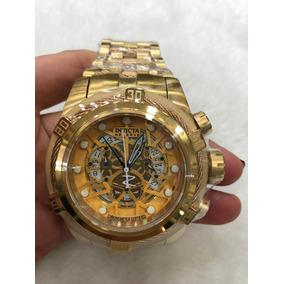 Relógio Invicta Bolt Zeus 12900 Todo Dourado 12x Sem Juros
