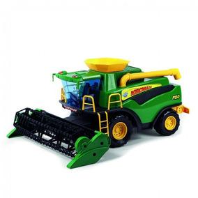 Colheitadeira Poliplac Brinquedo Agromax Fazendeiro Verde