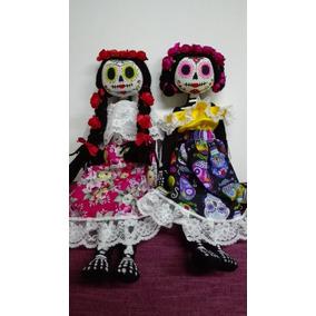 Hermosas Catrinas Artesanales En Mercado Libre México