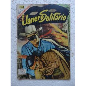 El Llanero Solitário Nº 166! Editoria Novaro Jan1967! México