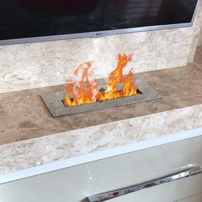 Lareira Ecológica Álcool E Etanol Completa C/queimador 40cm