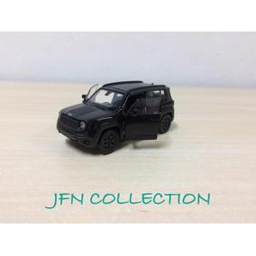 Miniatura Em Metal Jeep Renegade Traihawk Preto