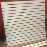 Exhibipanel, Panel Ranurado Nuevo 1.22x1.22 Blanco
