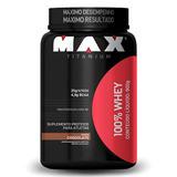 100% Whey 900g Max Titanium