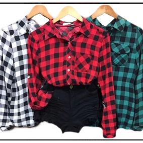 7071a5dd4 Camisas Xadrez Feminina Renner - Camisa Manga Longa Feminino no ...