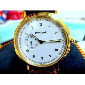 a838bda6fc8 Relógio Breguet Exército Guerra Cronógrafo Ouro Valjoux 72. Usado - Mato  Grosso do Sul · Relógio Gerald Genta De Ouro 18k Comemorativo A 25 Anos De G