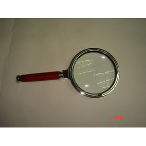 Lupa De Mão Profissional Em Metal Lente 65mm Magnificação 6x - Lupas ... 8da1cc9bcf