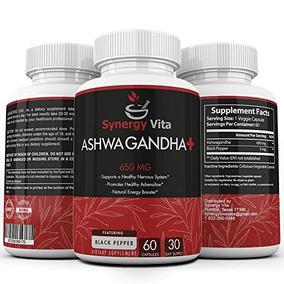 Ashwagandha Plus 650mg Negro Pimienta 5mg - Dosificación Pur