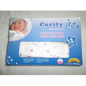 Pañales De Tela Marca Curity Para Bebes