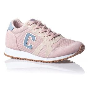 Tênis Cocacola Shoes California Feminino Rosa/celeste Cc1336