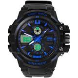 Reloj Hombre Skmei 0990 Sumergible Garantía Deportivo