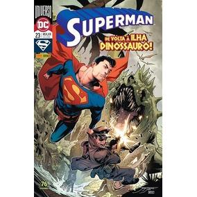 Hq Superman Renascimento Nº 23 Ed Fev/2019 - Ilha Dinossauro